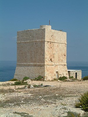 Madliena Tower - The tower in 2007, prior to restoration