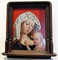 Maestro della leggenda della maddalena, madonna del latte, 1490-1510 ca. (bruxelles).JPG