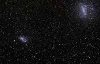 Magellanic Clouds - The Large and Small Magellanic Clouds