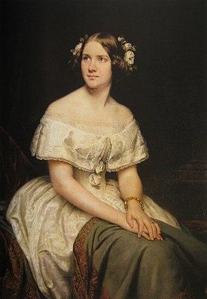 Jenny Lind - Soprano Jenny Lind by Eduard Magnus, 1862