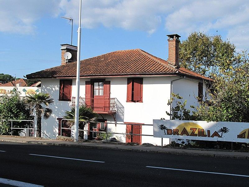 The Destribats house in Capbreton (Landes, France).
