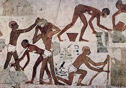 Resultado de imagen de pinturas murales de Rekh-mi-Re ladrillo