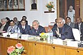 Mallikarjun Kharge addressing the Railways General Managers conference, in New Delhi on January 21, 2014. The Chairman, Railway Board, Shri Arunendra Kumar and other dignitaries are also seen.jpg