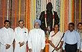 Manmohan Singh, the Speaker, Lok Sabha, Smt. Meira Kumar, the Union Minister for Parliamentary Affairs and Water Resources, Shri Pawan Kumar Bansal, the Union Minister of Social Justice and Empowerment.jpg
