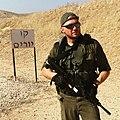Manuel Spadaccini durante un training in Israele.jpg