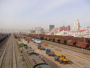 Eurasian Land Bridge - Manzhouli, China's oldest and busiest rail gate to Russia