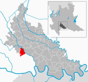 Graffignana - Image: Map IT Lodi Graffignana