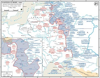 The Soviet winter counter-offensive, 5 December 1941 to 7 May 1942