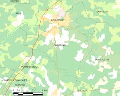 Map commune FR insee code 40288.png