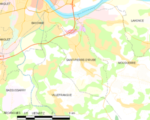 Map commune FR insee code 64496.png