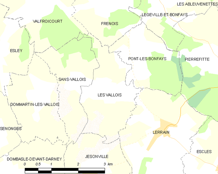 Fitxer:Map commune FR insee code 88491.png