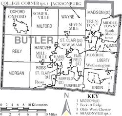 Hanover Township Butler County Ohio Wikipedia