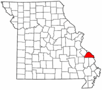 Map of Missouri highlighting Perry County.png