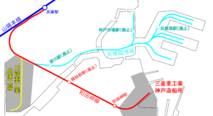 Map of Wadamisaki Line.png