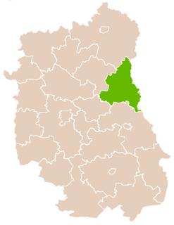 Włodawa County County in Lublin Voivodeship, Poland