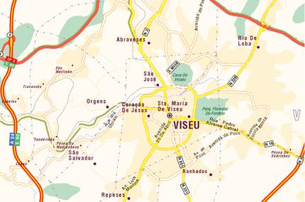 mapa do concelho de viseu Viseu – Wikipédia, a enciclopédia livre mapa do concelho de viseu