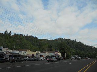 Mapleton, Oregon Unincorporated community in Oregon, United States