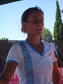 María Irigoyen (interview) — Fed Cup 2011.jpg