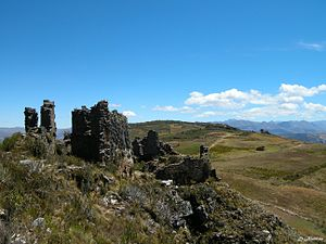 La Libertad Region - Image: Marcahuamachuco Sector Las Monjas