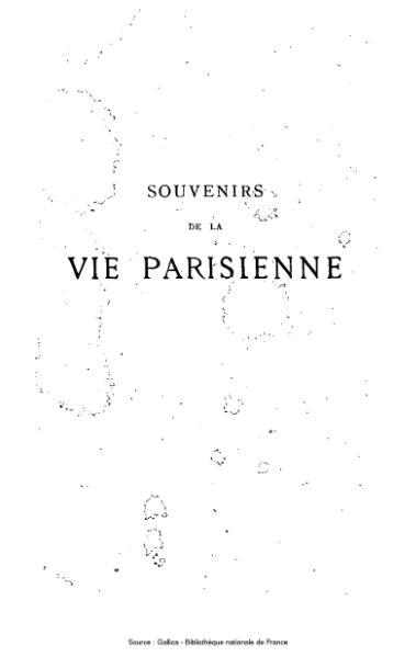 File:Marcelin - Souvenirs de la Vie Parisienne, 3e édition.djvu