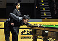 Marco Fu and Michaela Tabb at Snooker German Masters (DerHexer) 2013-02-02 04.jpg