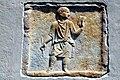 Maria Saal Possau Kirche Grabbaurelief mit Schreiberdarstellung 06082009 61.jpg