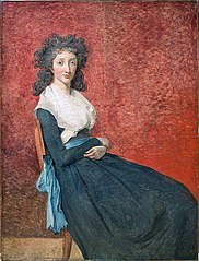 Portrait of Madame Marie-Louise Trudaine