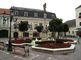 Mariensäule, Brunnen/Wasserspiele/Teich