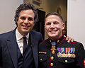 Mark Ruffalo and Kyle Carpenter June 2014.jpg