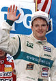 Mark Smith after winning the Molson Indy Lights race Vancouver BC 1992 final.jpg