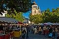 Market day, Cahors. Lot, France, 20 Sept. 2008.jpg