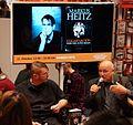 Markus Heitz stellt Exkarnation (Krieg der alten Seelen) auf der Frankfurter Buchmesse 2014 vor.JPG
