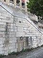 Marque crue de la Seine voie Georges-Pompidou 1.jpg