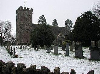 Marshfield, Newport - Image: Marshfield (Meiryn) St Mary's Church geograph.org.uk 69772