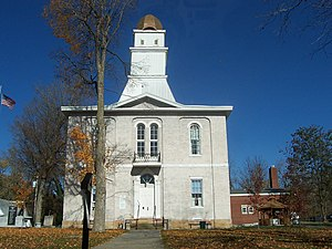 Shoals, Indiana - Martin County courthouse in Shoals