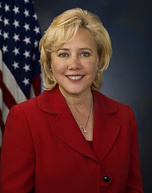 Mary Landrieu Senate portrait