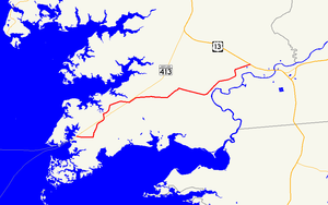 Maryland Route 667 - Image: Maryland Route 667 map