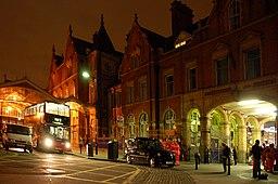 Marylebone railway and tube station London