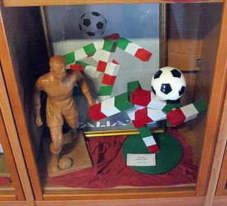 1990 FIFA World Cup - Ciao, a stick figure in the colours of the Italy ''Tricolore'', was the mascot for the 1990 FIFA World Cup.