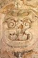 Masquara en la pared del complejo El Palacio, Zona arqueologica Palenque 07 ID ZA33 DBannasch.jpg