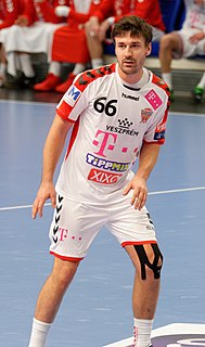 Máté Lékai Hungarian handball player