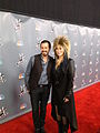 Matt Morris and Cher on Red Carpet of The Voice.jpg