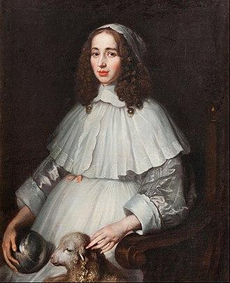 1648 in Sweden - Matthaeus Merian the Younger - Anna Margareta von Haugwitz (1622 – 73) - Google Art Project