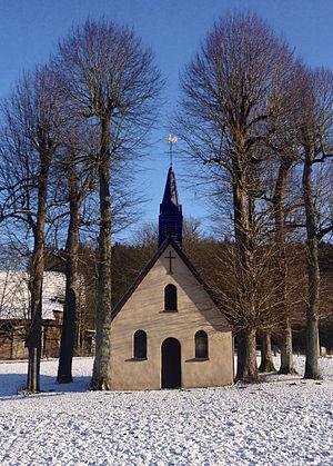 Finnentrop - Image: Matthiaskapelle im Winter