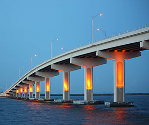 A. Max Brewer Bridge - Image: Max Brewer Bridge, Titusville, Florida