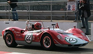 Can-Am - A McLaren M1A, one of the early Can-Am competitors that was equally at home in other sportscar series.