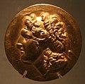 Medaglioni aurei romani da tesoro di aboukir, inv. 2428 testa diademata di alessandro.jpg