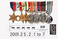 Medal, campaign (AM 2001.25.2.1-5).jpg