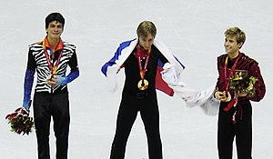 Medalist figureskating men torino2006 (retouched).jpg