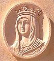 """Medallón de Isabel """"la Católica"""" (Valmojado).jpg"""